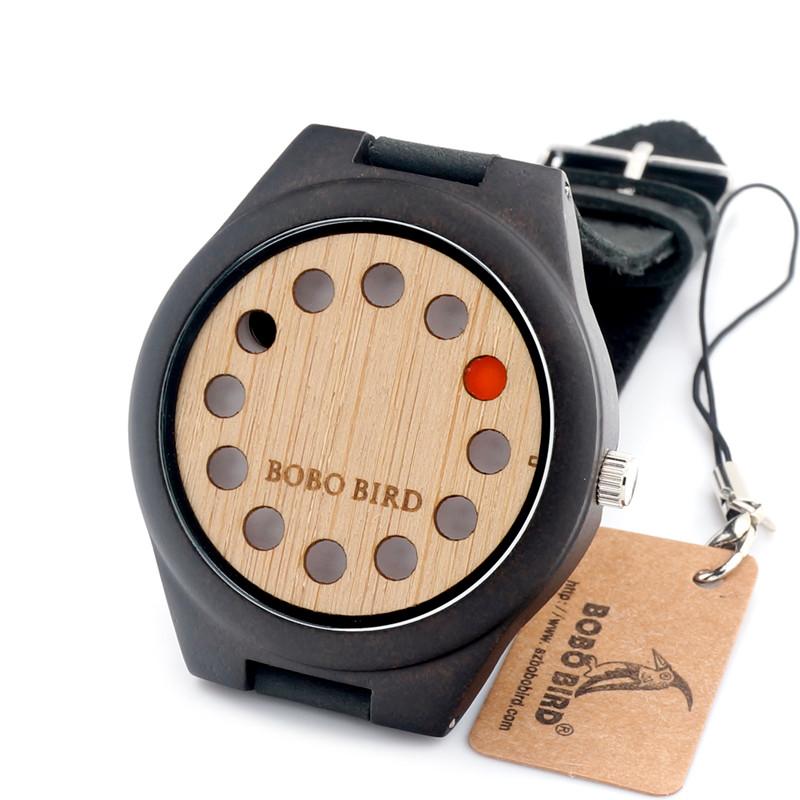 b4de2135c Vybrali jsme dřevěné hodinky s označením BOBO BIRD F06, které nám dorazily  ve velice působivé a pěkné papírové krabičce. Společně s hodinky je možné  ...